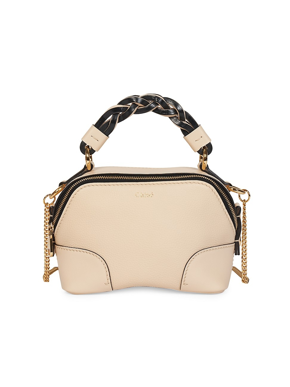 Chloé WOMEN'S MINI DARIA LEATHER SATCHEL