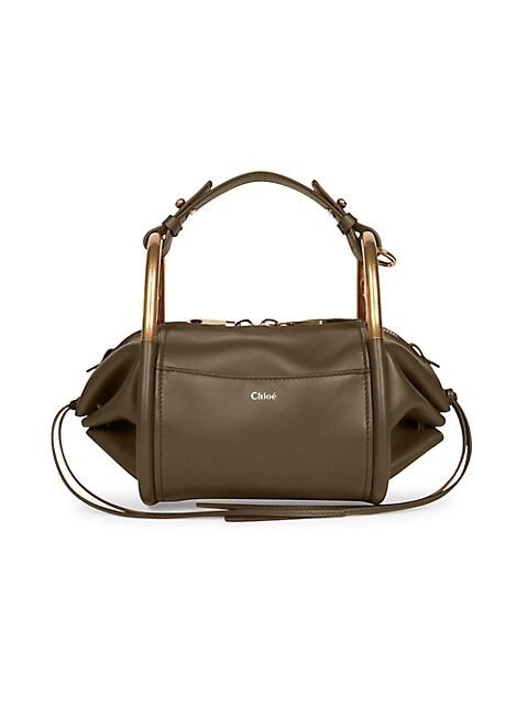Hailey Leather Shoulder Bag