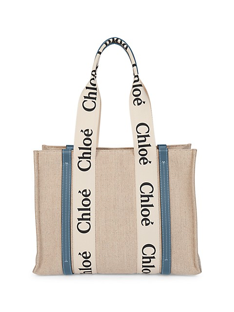 Medium Woody Canvas Tote