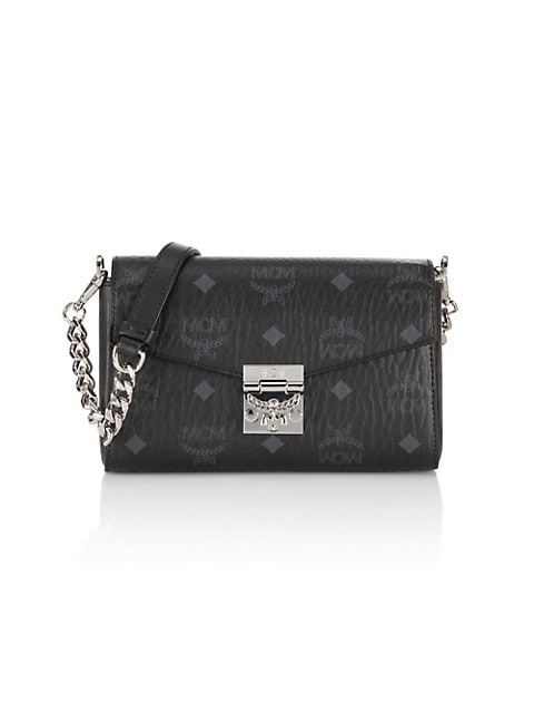 Millie Visetos Crossbody Bag