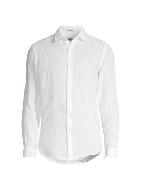 Sammy Slim-Fit Linen Shirt