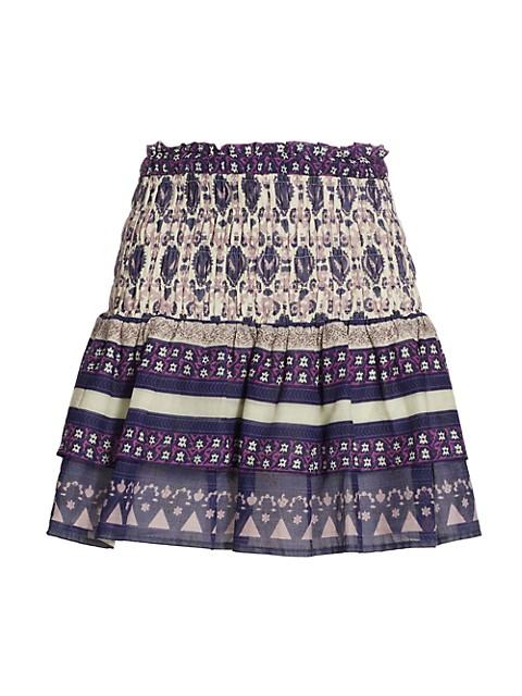 Brigitte Border Skirt