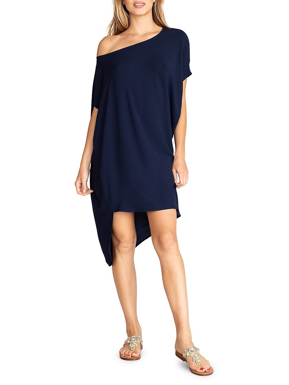 Trina Turk WOMEN'S RADIANT ASYMMETRIC DRESS