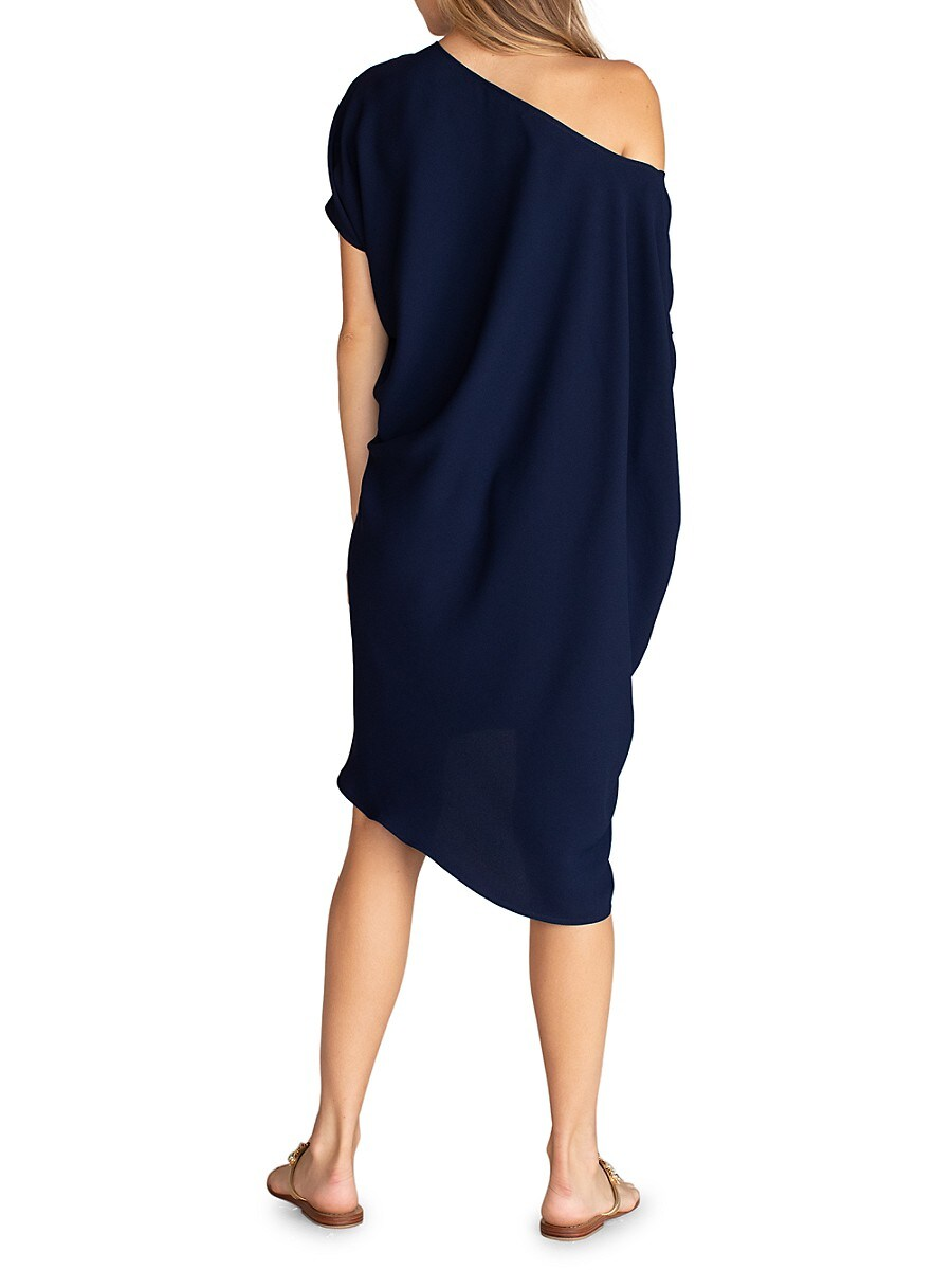 TRINA TURK Dresses WOMEN'S RADIANT ASYMMETRIC DRESS