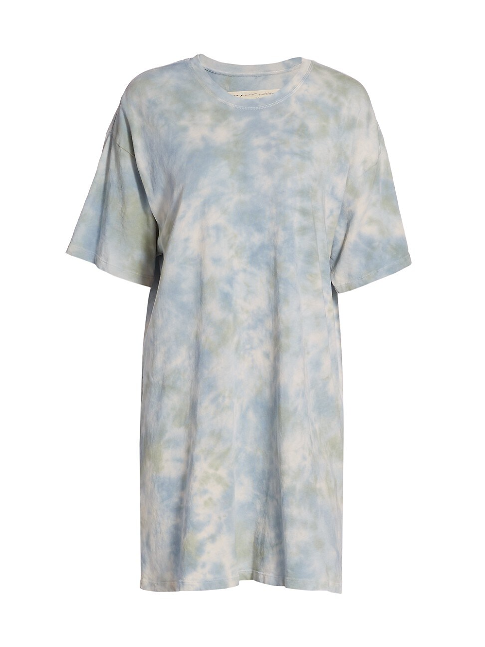 Raquel Allegra WOMEN'S TIE-DYE T-SHIRT DRESS