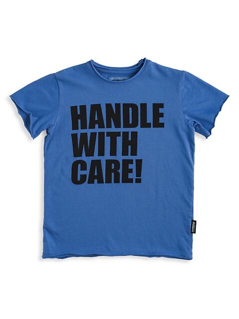 Little Boy's and Boy's Handle With Care Cotton T-Shirt