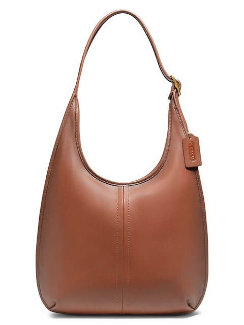 Ergo Leather Hobo Bag