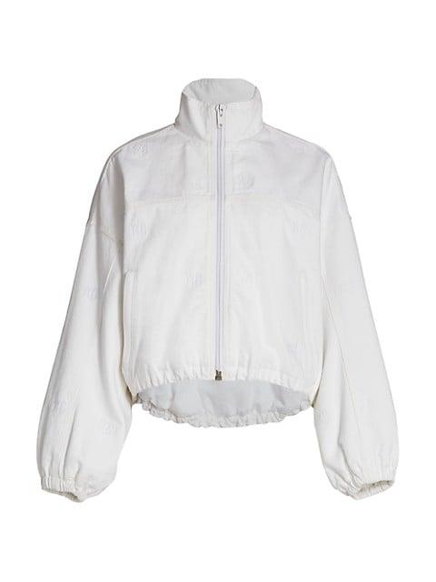Denim Track Jacket