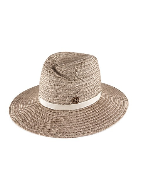 Virginie Hemp Straw Fedora