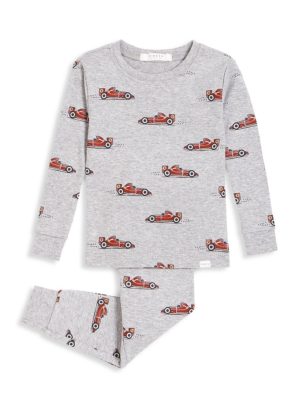 Firsts By Petit Lem Sets BABY BOY'S FIRSTS 2-PIECE MONACO LONG PAJAMA SET