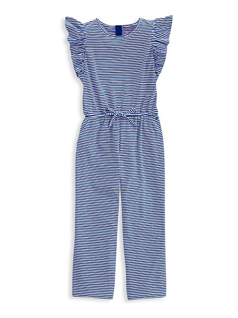 Little Girl's & Girl's Ruffle Jumpsuit