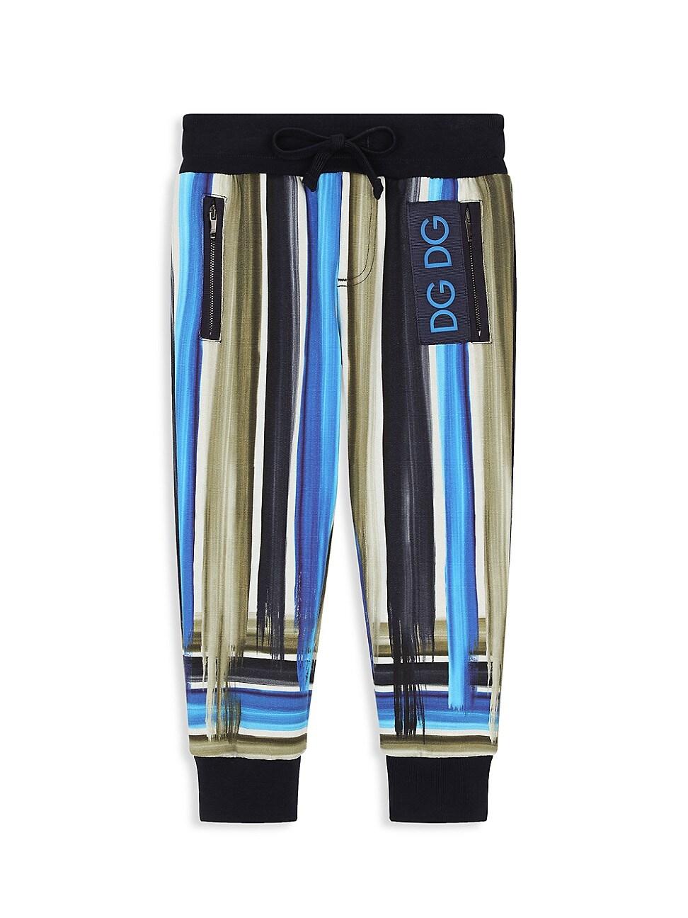 Dolce & Gabbana Cottons LITTLE BOY'S & BOY'S BRUSHSTROKE JOGGERS