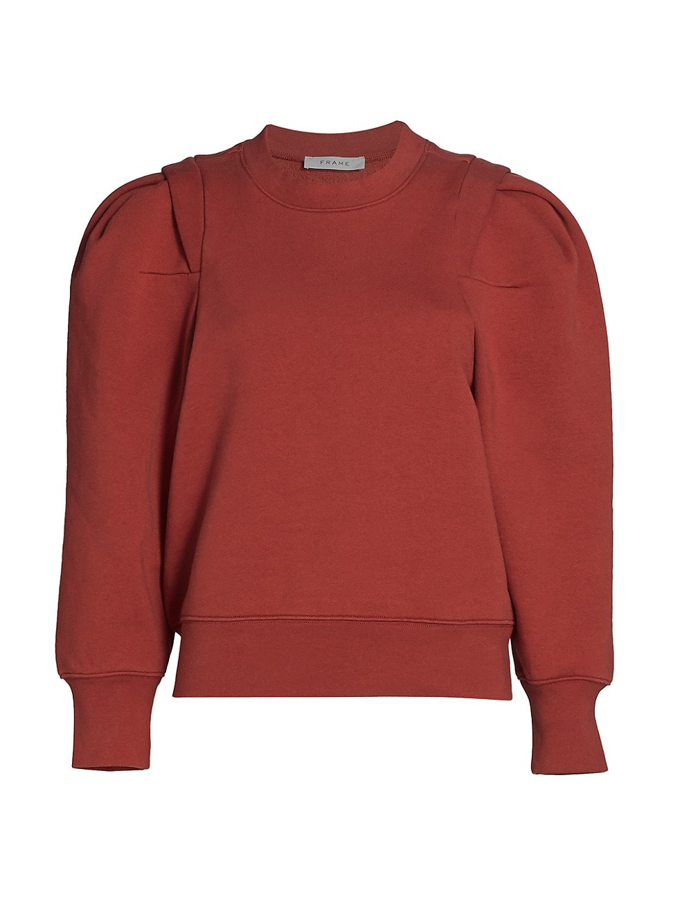 Frame WOMEN'S PLEATED PANEL PUFF-SLEEVE SWEATSHIRT