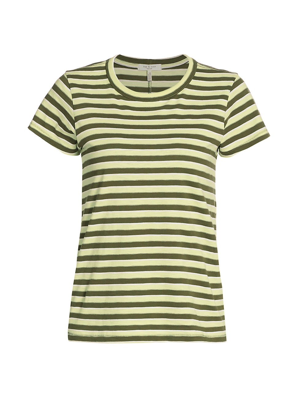 Rag & Bone WOMEN'S THE SLUB STRIPED T-SHIRT