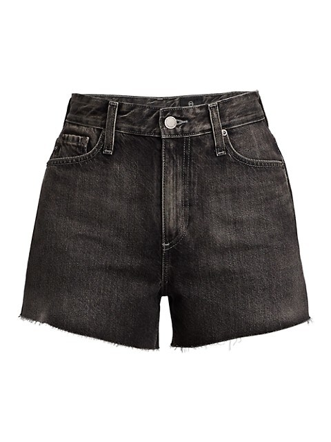 Alexxis High-Rise Denim Shorts