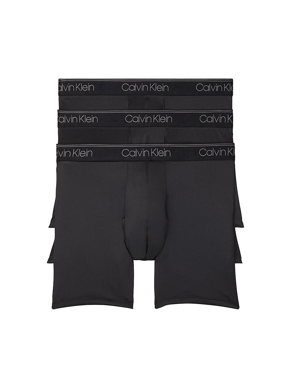 Calvin Klein Briefs MEN'S 3-PACK MICRO STRETCH BOXER BRIEFS