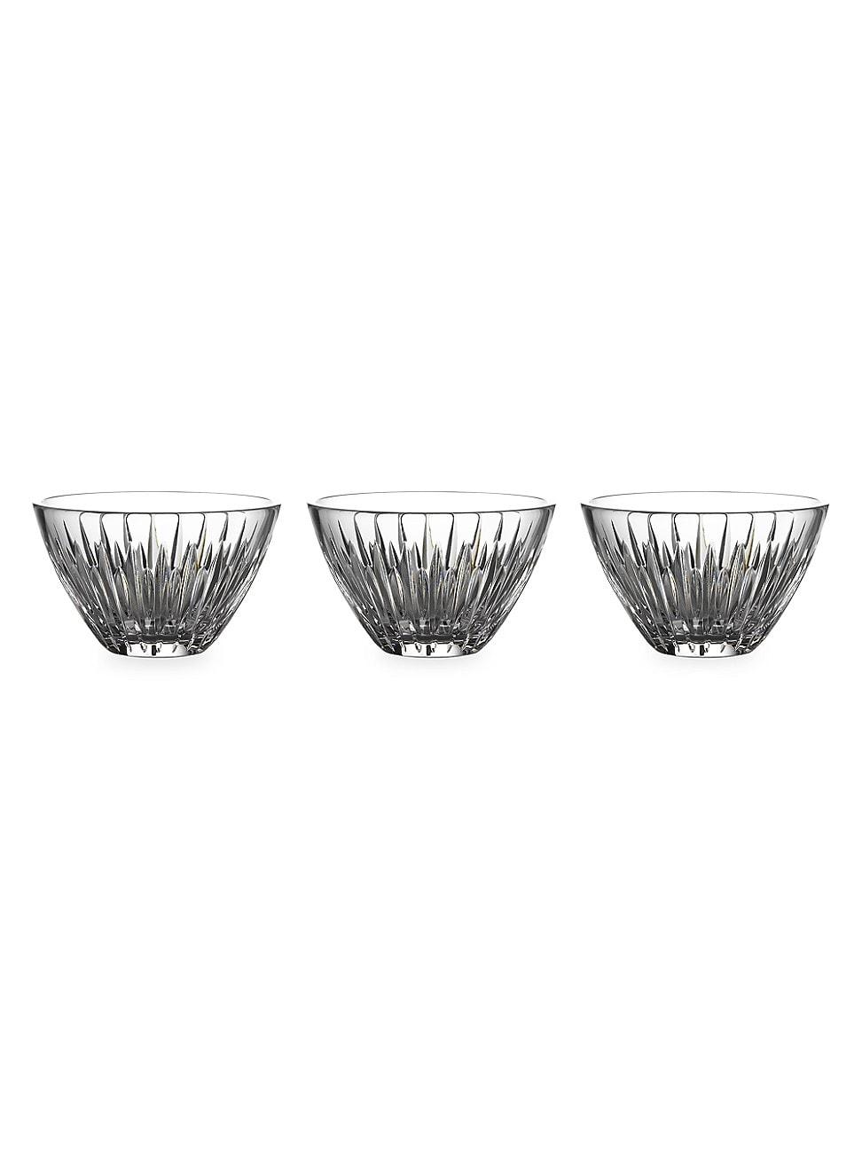 Waterford Mara 3-piece Glass Stacking Bowl Set