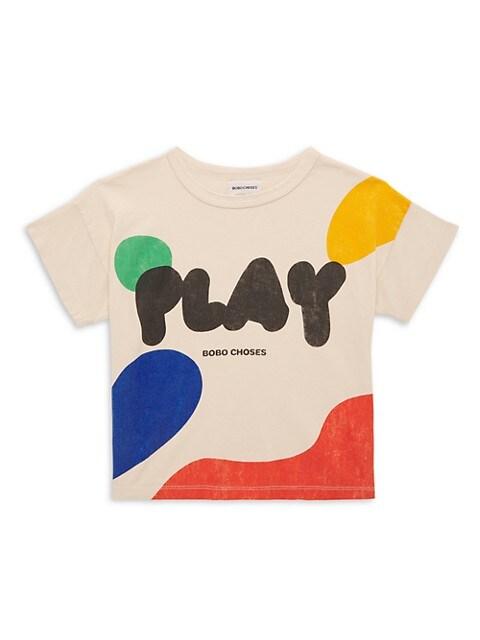 Little Girl's & Girl's Play Landscape T-Shirt