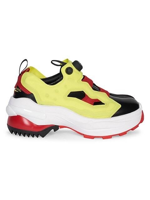 Maison Margiela x Reebok Tabi Instapump Derby Sneakers