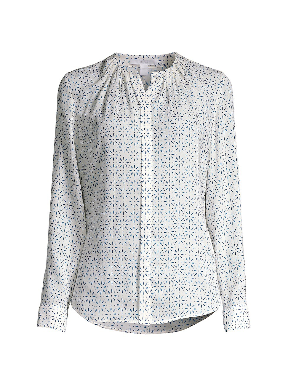 Hugo Boss WOMEN'S BANORA PRINT SILK BLOUSE