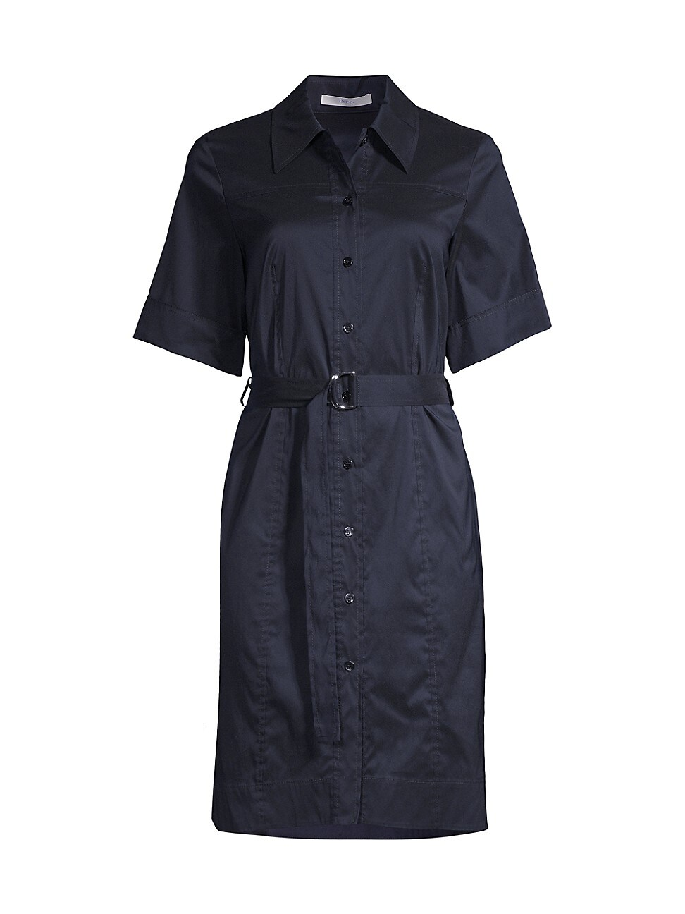Hugo Boss WOMEN'S DASHILO BELTED SHIRTDRESS