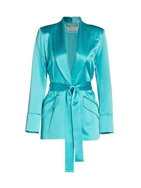 Iba Silk Belted Jacket