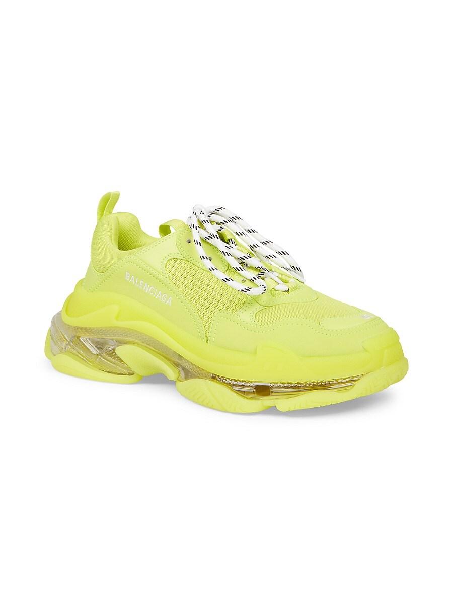 BALENCIAGA Sneakers MEN'S TRIPLE S CLEAR SOLE SNEAKERS