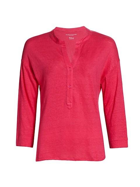Linen Henley Shirt