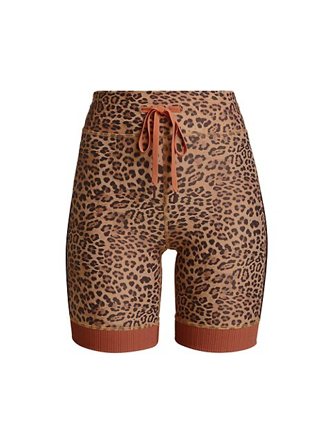 Leopard Spin Shorts