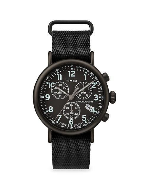Standard Chrono Fabric Strap Watch