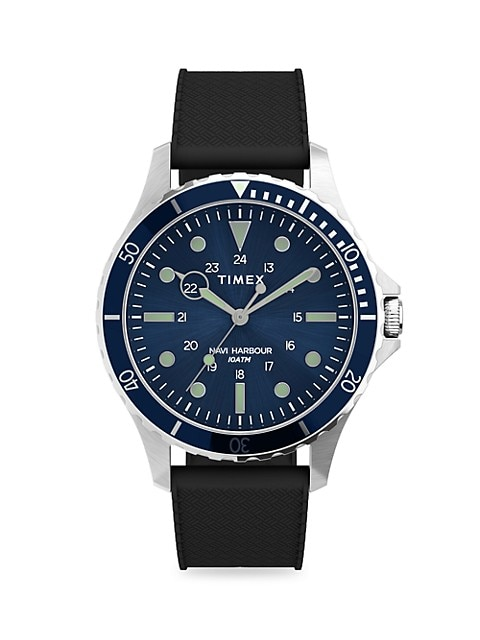 Navi XL Silicone Strap Watch