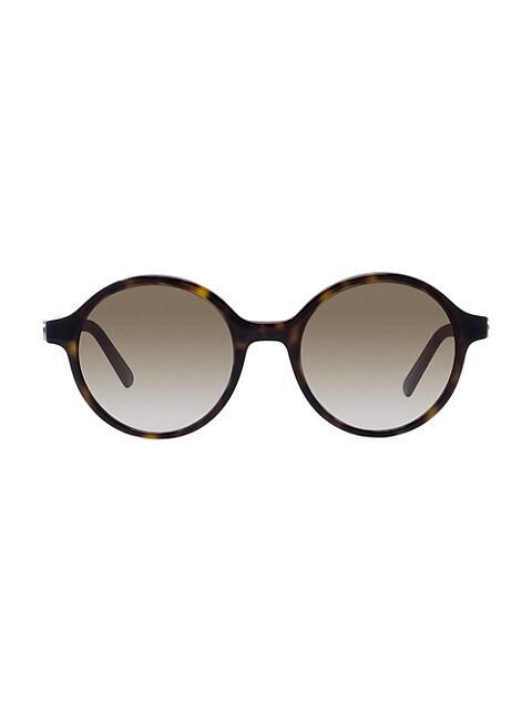 30Montaigne 51MM Round Sunglasses