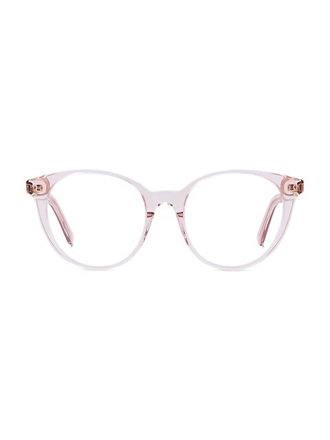 DiorSpirit 51MM Round Optical Glasses