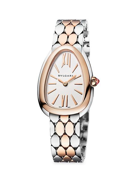 Serpenti Seduttori Two-Tone Bracelet Watch