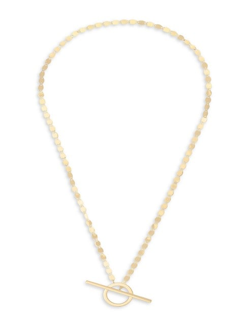 Nude 14K Yellow Gold Toggle Necklace