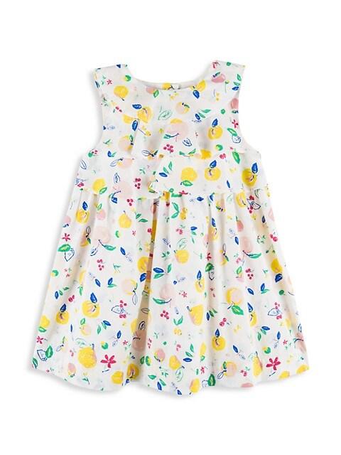 Baby Girl's Fruit Print Dress