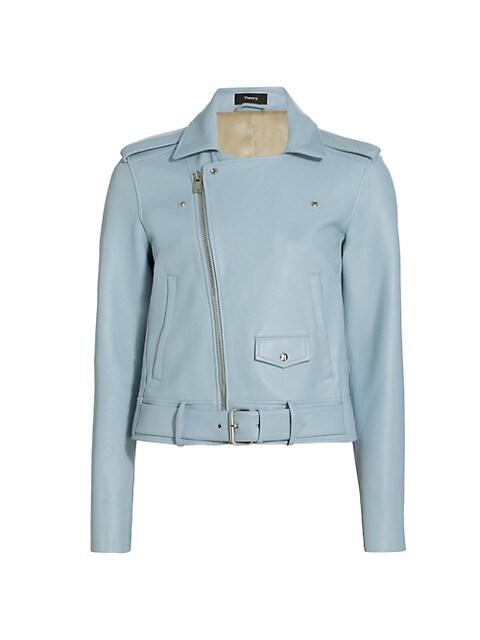 Casual Moto Leather Jacket