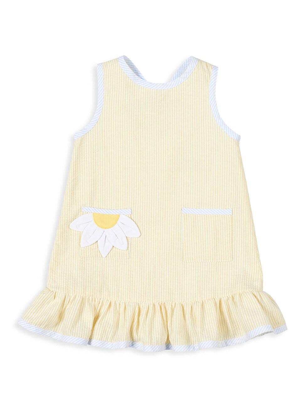 Florence Eiseman Dresses LITTLE GIRL'S DAISY FRESH SEERSUCKER DRESS