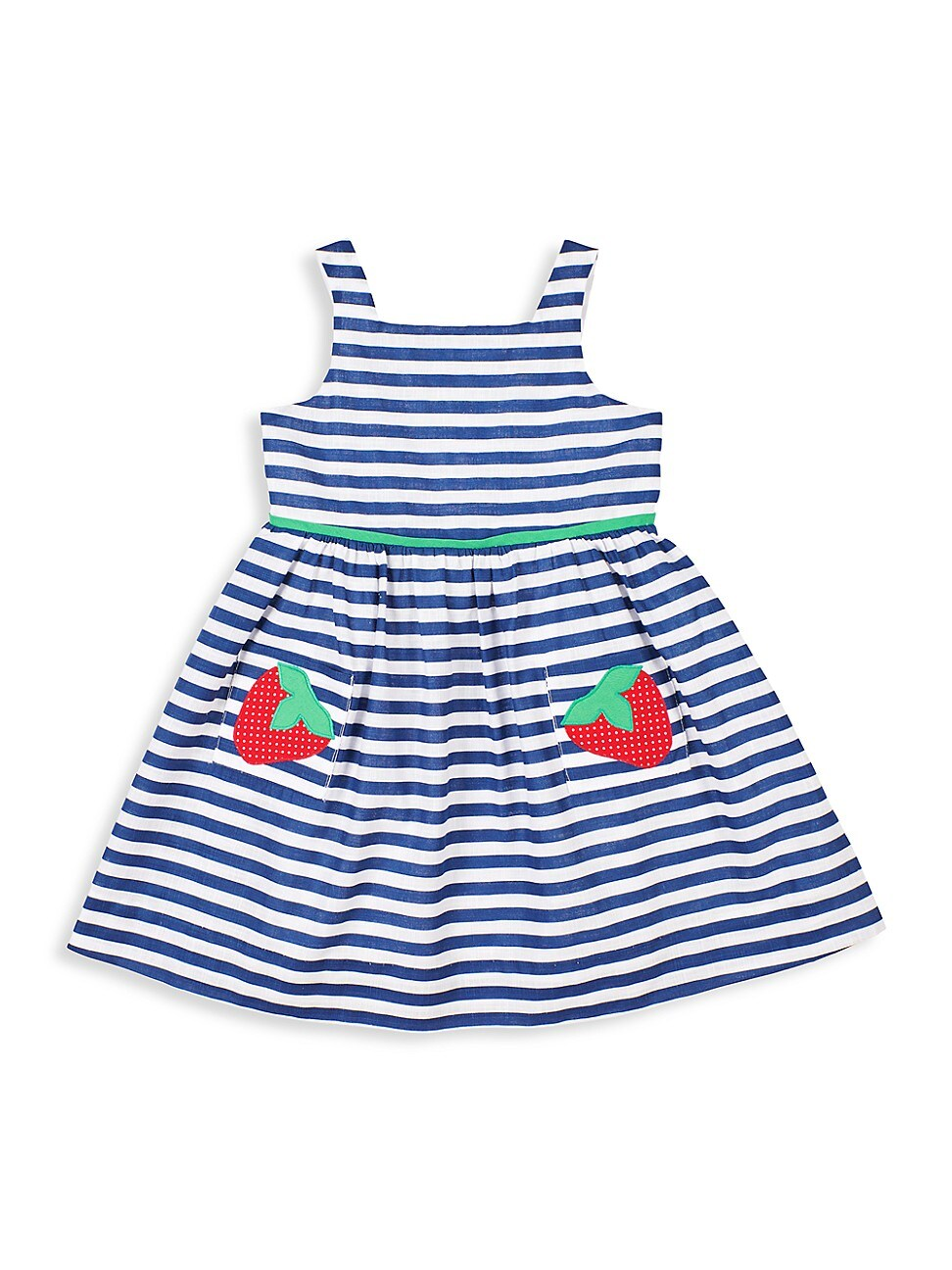 Florence Eiseman BABY'S & LITTLE GIRL'S BERRY CUTE STRIPED DRESS