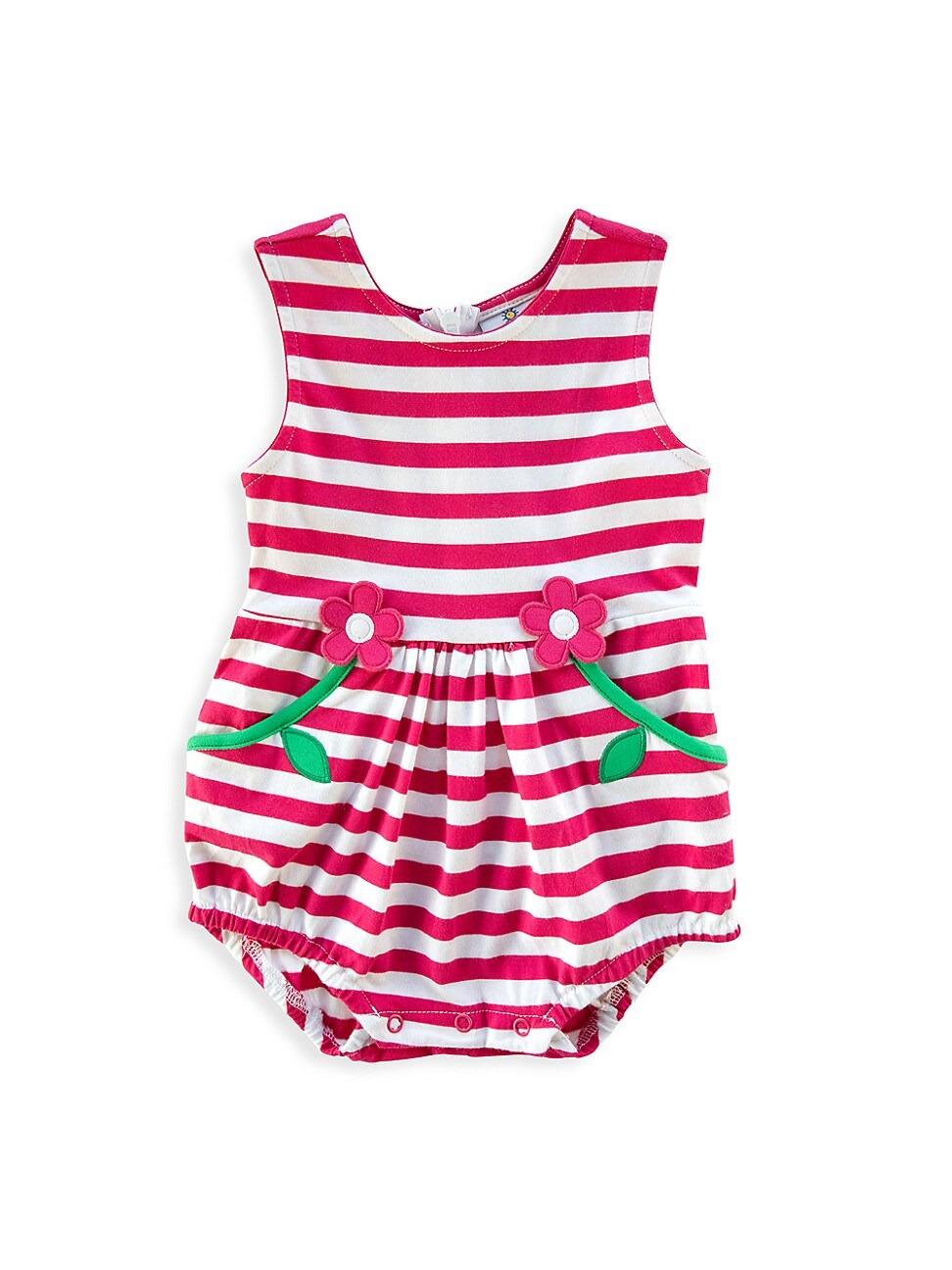 Florence Eiseman Dresses BABY GIRL'S FOR THE FUN OF IT STRIPED BUBBLE ROMPER