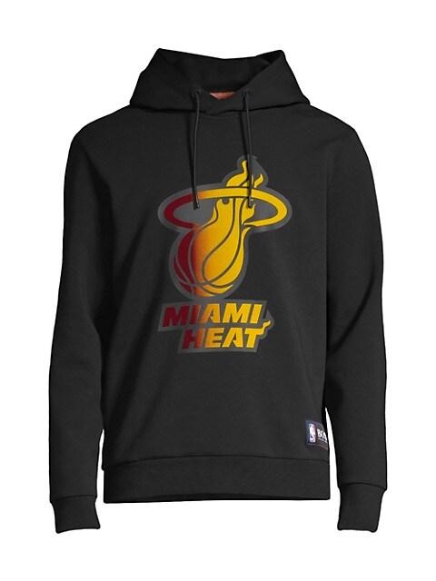 Miami Heat Logo Hooded Sweatshirt