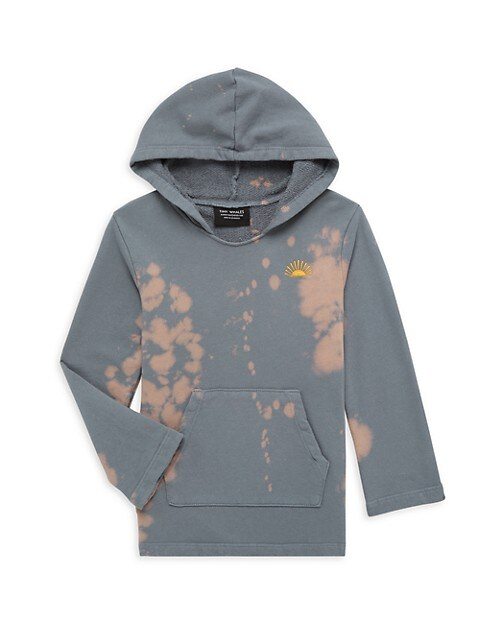 Little Boy's and Boy's Mojave Tie-Dye Hoodie