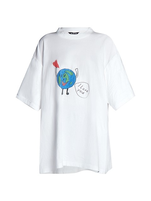 Oversized Love Earth T-Shirt