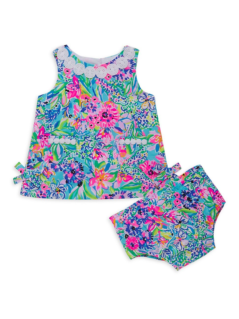 Lilly Pulitzer Baby Girl's 2-piece Shift & Bloomers Set In Neutral