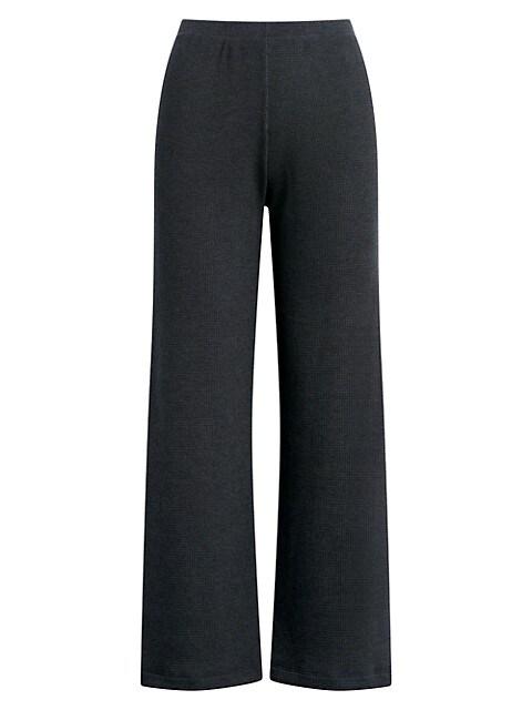 Willow Waffle-Knit Pants
