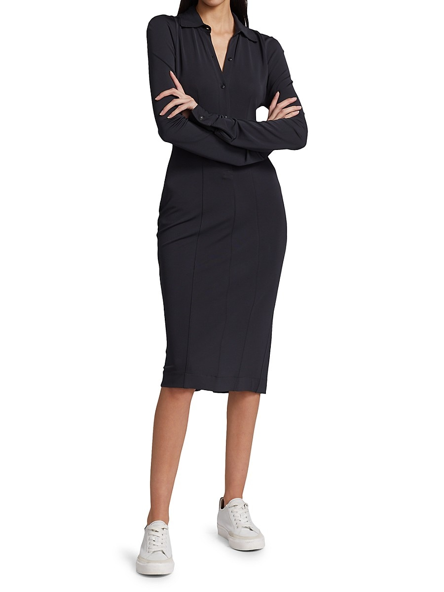 RAG & BONE Dresses WOMEN'S SABEEN SHEATH SHIRTDRESS