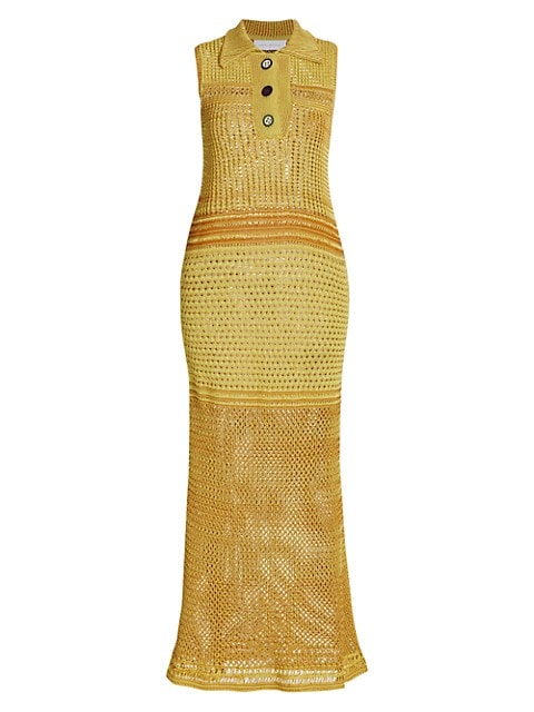 Crochet Polo Dress