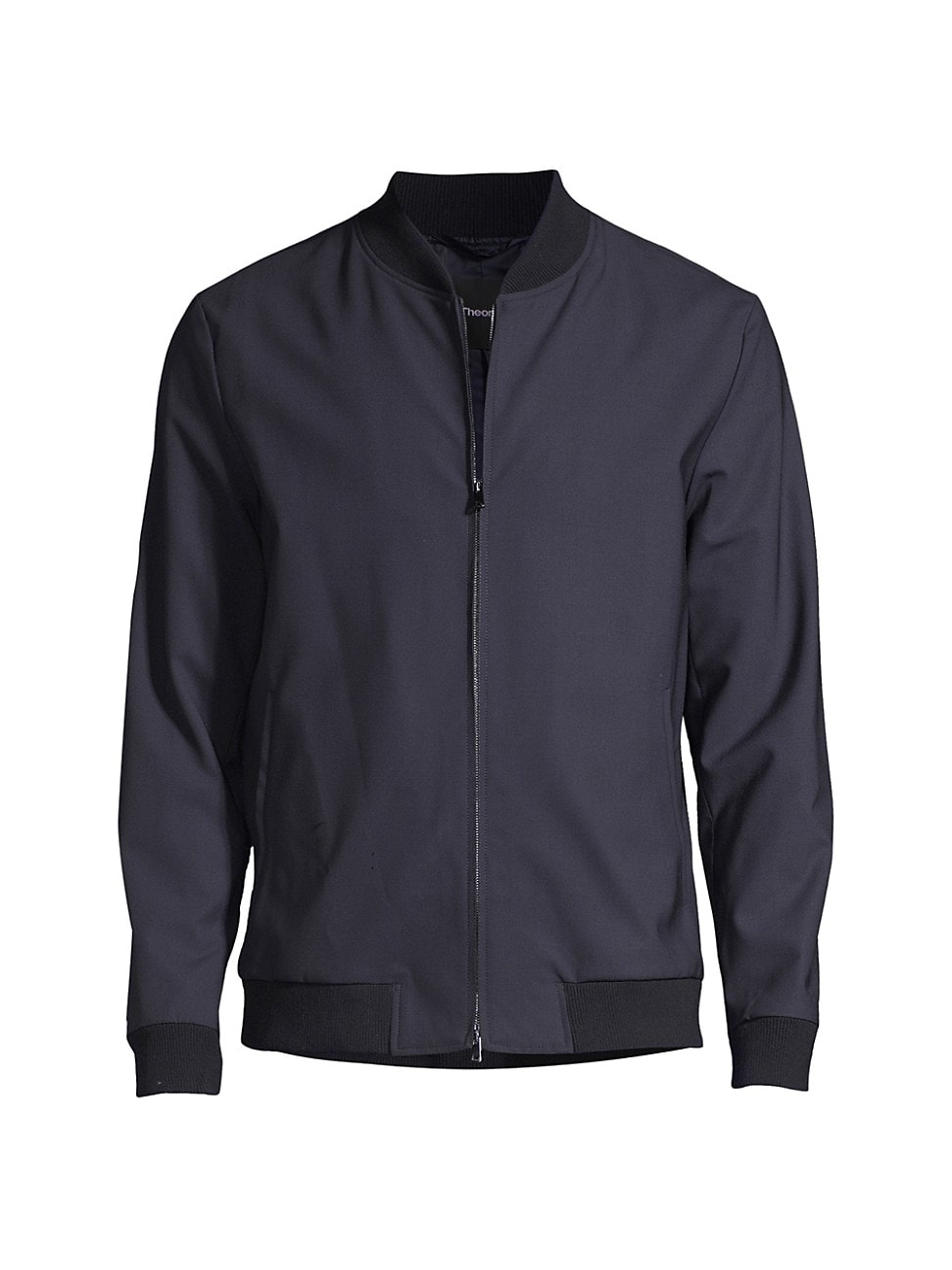Theory MEN'S AIDEN WOOL-BLEND BOMBER JACKET