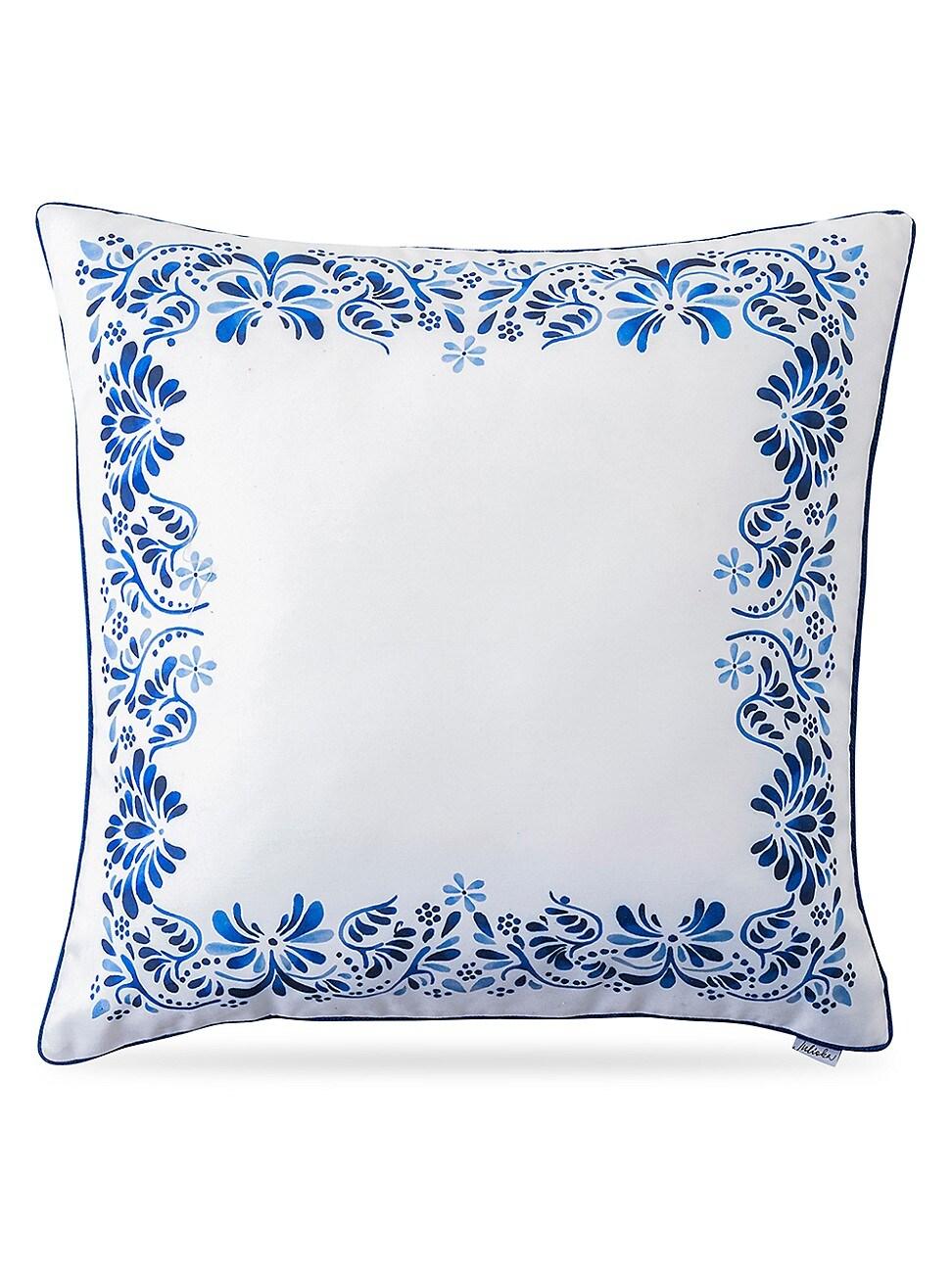Juliska Pillows IBERIAN JOURNEY BORDER PILLOW
