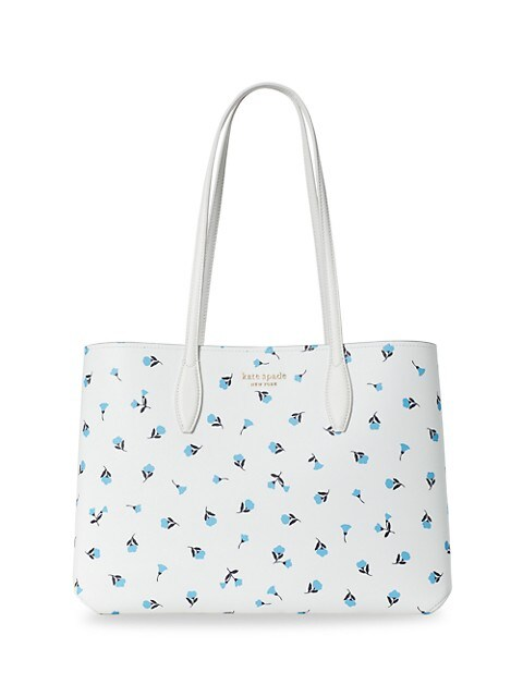 Large All Day Dainty Bloom Garden Ditsy Tote